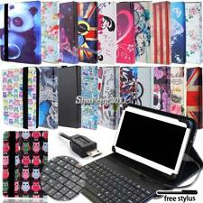 Leather Stand Cover Case With Keyboard For Google Nexus 7 10 TABLET + Stylus