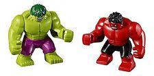 LEGO - Super Heroes - Avengers - Hulk & Red Hulk - MINI FIG / MINI FIGURE