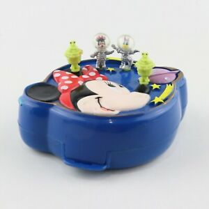 POLLY POCKET DISNEY 1996 Minnie Mouse Space Compact *COMPLETE*