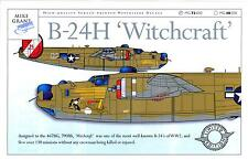 Mike Grant Decals 1/72 B-24H LIBERATOR WITCHCRAFT 790th Bomb Squadron