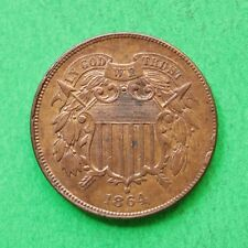 1864 USA 2 Cent With traces of lustre SNo46606