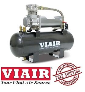 VIAIR 200PSI 1.76CFM High Flow Air Source Kit Universal Fit 20008