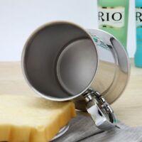 Tankard Stein Double Wall Stainless Steel Beer Mug Cocktail Breakfast Milk Mugs