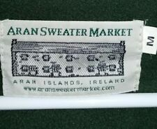 Aran sweater market (zip up wool sweater)