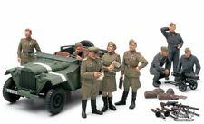 Tamiya 89767 1/48 Military Model Kit Russian Field Car GAZ-67B w/Officers Ryu