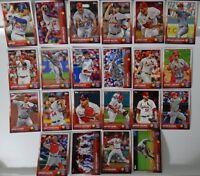 2015 Topps Series 1 & 2 St. Louis Cardinals Team Set of 22 Baseball Cards