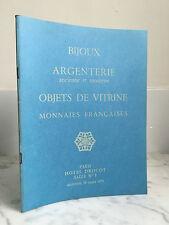 Catalogue vendite Gioiello Argenteria vintage e moderno Oggetto di vetrina 1973