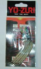 NEW SAND EEL 1/0 mm 90 anguilla YO ZURI Y172-100-L col LUMINOUS fluo