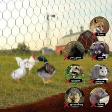 Mat Mesh Galvanized Poultry Netting Fence for animals Roosters rabbits pets SALE
