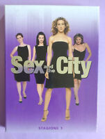 BOX DVD Film Ita Commedia SEX AND THE CITY Stagione 1 Sarah Parker no vhs cd(T5)