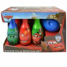 Disney Cars Indoor Outdoor Fun Racing Pals Bowling Set Toy Gifts Set For Kids
