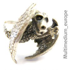 Dragon Bague Argent 925 Dragon Sterling Silver Ring
