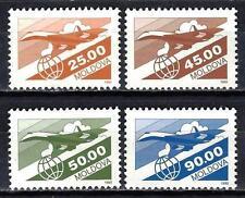 Moldavie 1993 série courante Yvert poste aérienne n° 5 à 8 neuf ** 1er choix