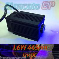 MODULO LASER 445nm BLU 1.6W 1600mW INCISIONE diode module focusable CW engraving