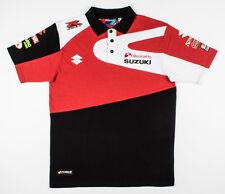 Offizielle 2016 Bennetts Suzuki Halsall Racing Team-BSB-Polo-Shir - NEU  Gr. L
