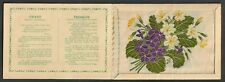 More details for kensitas wix tobacco postcard silk flower violet - primrose cover type a
