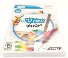 uDraw Studio  for Nintendo Wii ** BRAND NEW GAME **