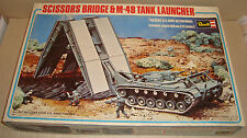 REVELL 1/40 SCALE H-558 U.S. ARMY SCISSORS BRIDGE & M-48 TANK LAUNCHER 1977