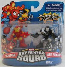 Marvel Super Hero Squad 2 pack Iron Man & War Machine  MIP - HTF