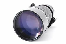Canon New FD 300mm f/4 MF Telephoto lens w/case As-Is from Japan