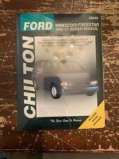 Chilton Ford Windstar Freestar 1995-07 Repair Manual