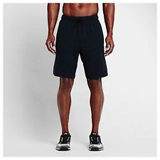 Nike Mens Fleece PRO Training Shorts Dri-fit Black 891948 010 Size Medium NWT