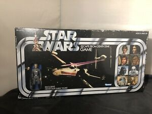 Star Wars Escape From Death Star Game Grand Moff Tarkin Figure Retro Board Game