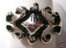 LOOK 10 GRAMS Sterling Silver Gothic Chaos Ring Jewelry