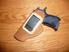 IWB Leather Concealment Holster USA Quality Tan Bersa Makarov Cz82/83 Beretta84