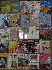 Houghton Mifflin Reading Below Leveled Readers Spanish 25 Books 4th Grade 4