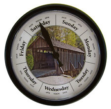 DAY OF THE WEEK CLOCK #D296B DAYS PAST Day Clock