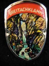 Breitachklamm used hiking medallion stocknagel G1513