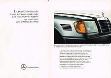 PUBLICITE ADVERTISING  1991   MERCEDES-BENZ 190D 2.5 TURBO  ( 2 pages)