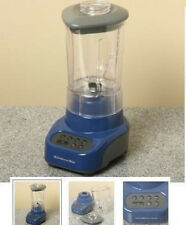 New Blue KitchenAid Blender(MADE USA)Unbreakable Jar Crush ice Metal Base