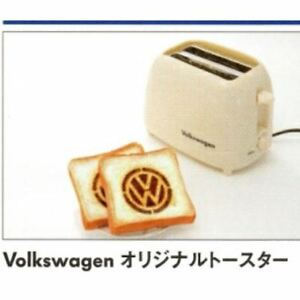 Volkswagen Tostadora Marfil VW con Caja Original Mini Bus De Japón Muy Raro New