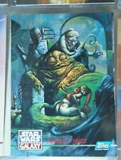 STAR WARS GALAXY,SERIES 3,TOPPS 99 CARD SET + L SET 1995 in ultra pro pages