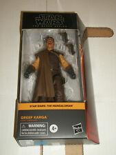 Hasbro Star Wars Mandalorian The Black Series GREEF KARGA Action Figure NEW