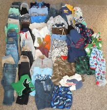 Boys Clothes 2T Large Lot of Assorted Pants Shirts Jeans Shorts Pj's Jackets
