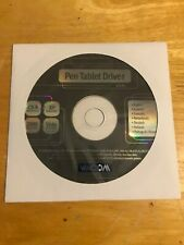 Wacom Pen Tablet Driver Installation CD v.4.85 Win/Mac/XP-MED A185(C)-Year 2005