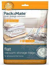 Original Pack Mate Vacusac Plat Aspirateur Rangement Sacs Ensembles Grand/XL /