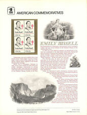 #126 15c Emily Bissell Stamp #1823 USPS Commemorative Stamp Panel