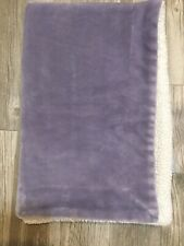 GUC Little Miracles Girls Plush Security Sherpa Blanket Purple Soft Costco