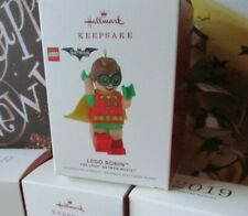 Hallmark Ornament Figure DC Comics The Batman Movie LEGO Robin Boy Wonder