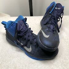 Nike Zoom Hyperfuse Blue Basketball Shoes 2013