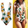 Women One Piece Swimsuit Padded Bikini Swimwear Bathing Monokini Backless Bikini