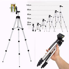 Portable Camera Camcorder Tripod Stand Cell Phone Holder Night Aluminum Bracket