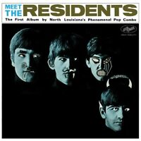 THE RESIDENTS - MEET THE RESIDENTS  VINYL LP NEW+
