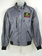 JPS John Players Special Jacket Vintage Windbreaker Grey Full Zip Mens Large