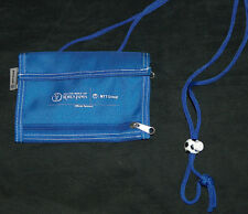 2002 FIFA World Cup JAPAN Folding Hanging w/ Rope ID Ticket Soccer Wallet Pouch