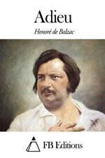 Adieu by Honoré de Balzac (2014, Paperback)